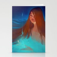 loish Stationery Cards featuring surfacing by loish