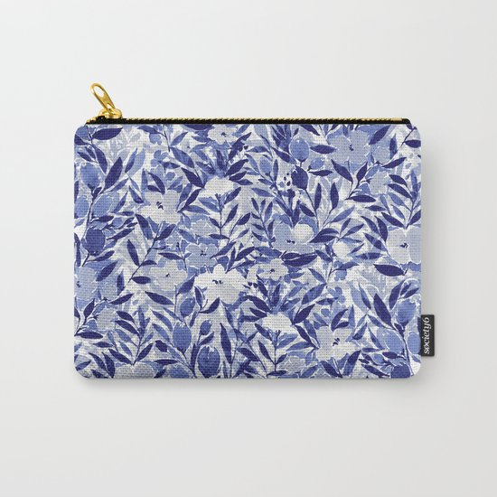 Nonchalant Indigo Carry-All Pouch