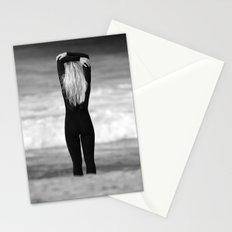 Surfer girl. Stationery Cards