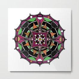 Mandala 010 Metal Print