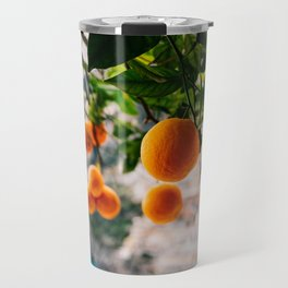 Amalfi Coast Oranges Travel Mug