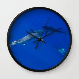 Hawaiian Shark V Wall Clock