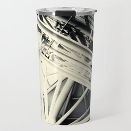 Spider Roof Struts Abstract Travel Mug