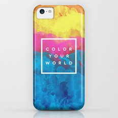 Color Your World iPhone 5c Slim Case