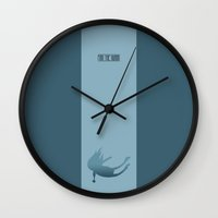 finn Wall Clocks featuring Finn by Rizwanb