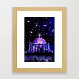 Star House. Framed Art Print