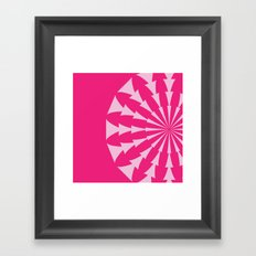 modcushion 9 Framed Art Print