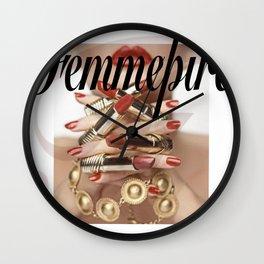 Femmepire Wall Clock