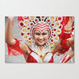 Tiny Dancer - Carnaval 2015 Canvas Print