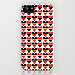 Sweethearts #hatetolove iPhone Case