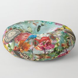The Secret Garden Floor Pillow