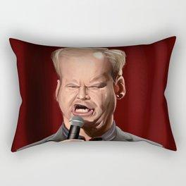 Jim Gaffigan Caricature Rectangular Pillow
