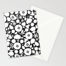 clear cut flowers Stationery Cards