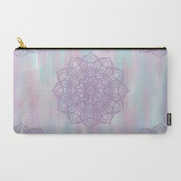 Abstract Pastel Mandala Carry-All Pouch