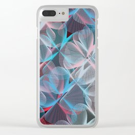 Abstract 159 Clear iPhone Case