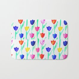 -happy tulips- Bath Mat