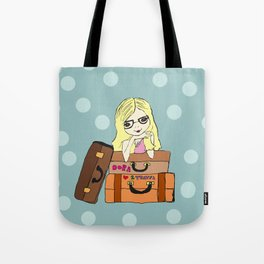 cute girl Dora Tote Bag