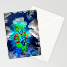 Funny world - Clown Stationery Cards