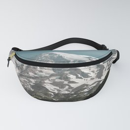 Turquoise Mountain Fever - Mt. Rainier Fanny Pack