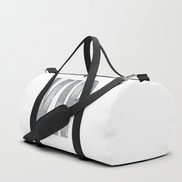 VIP Silver Duffle Bag
