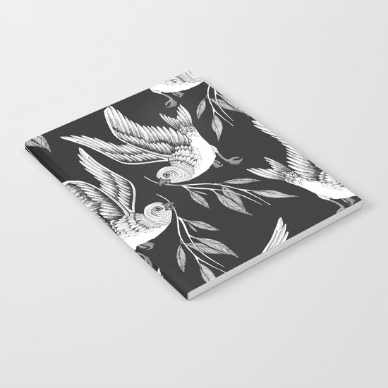 Miuotti Birds Notebook