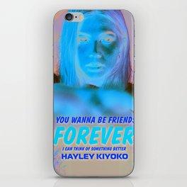 HAYLEY KIYOKO iPhone Skin