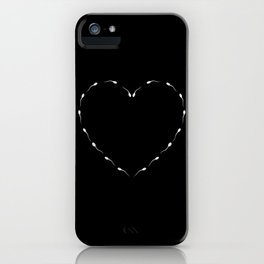 indecent Heart iPhone Case