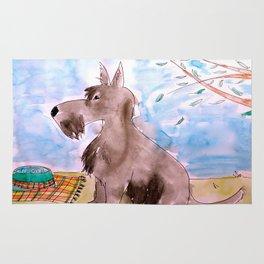 Scottish Terrier Rug