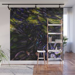 Abstract Color Splash Wall Mural