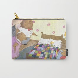 Goldilocks Caught Sleeping Carry-All Pouch