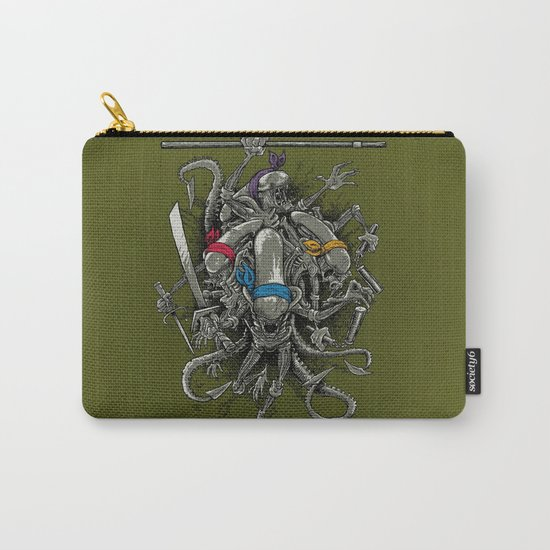 Ancient Ninja Xenomorphs Carry-All Pouch