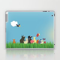 What's going on the farm? Kids collection Laptop & iPad Skin