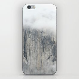 Misty in the Park iPhone Skin