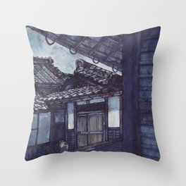 Pearls of Kyoto #2 Throw Pillow