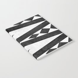 Tribal pattern in black and white. Notebook
