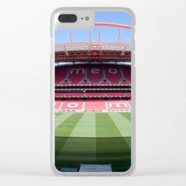 Estádio da Luz Clear iPhone Case