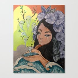 This Woman's Work Canvas Print