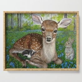Forest Friends Serving Tray