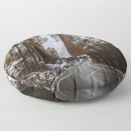 Giant Forest Exploring Floor Pillow
