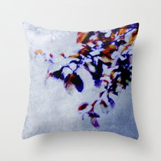 colorful breeze Throw Pillow