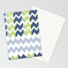 Modern Ikat Stationery Cards