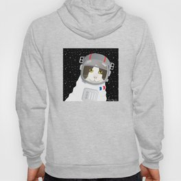 1963: France Blasted the First Cat into Outer Space Hoody