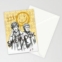Sherlock BBC Stationery Cards