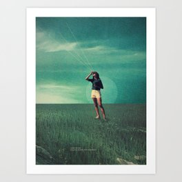 Loved the way You once looked upon Tomorrow Art Print