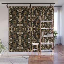 Floral Wrought Iron G14 Wall Mural