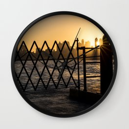Staten Island Ferry: Sunrise Wall Clock