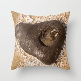 Heart of Goleta Beach Throw Pillow