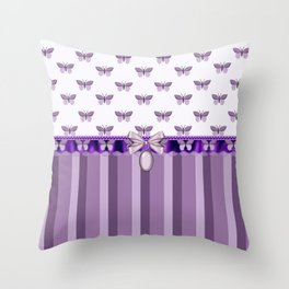 Dreaming Butterflies Throw Pillow