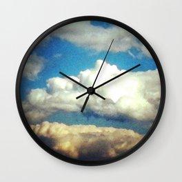 Beauteous May Sky Wall Clock