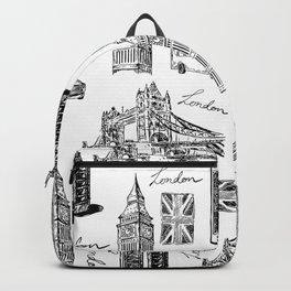 Vintage London Backpack